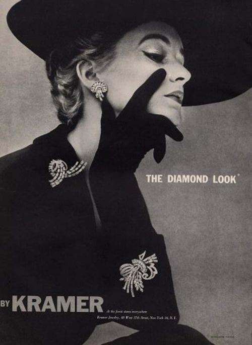 Kramer jewelry, 1951: Kramer Jewelry, Jewelry Ads, 1950S Hats, Costumes Jewellery, Classy 222, Lisafonssagr, Costumes Jewelry, Lisa Fonssagrives, Vintage Jewelry