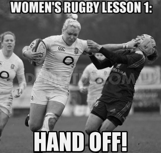 Women's Rugby | England | Rugby Memes - For the best rugby gear check out http://alwaysrugby.com