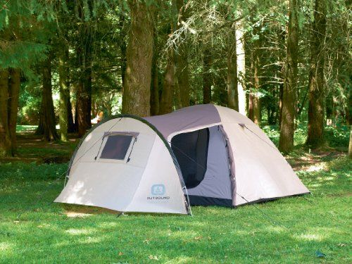 Pin it! :) Follow us :)) zCamping.com is your Camping Product Gallery ;) CLICK IMAGE TWICE for Pricing and Info :) SEE A LARGER SELECTION of 5-6 persons camping tents at http://zcamping.com/category/camping-categories/camping-tents/5-to-6-person-tents/ - hunting, camping tents, camping, camping gear -  Outbound Outpost Long 5 Person Tent (Brown, Medium) « zCamping.com