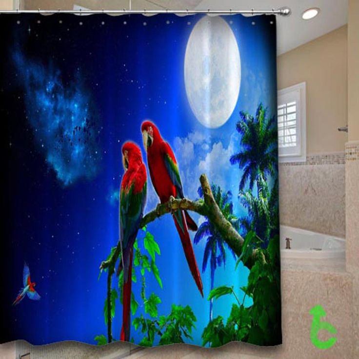 Cheap tropical parrots art macaws nebula parrots moon Shower Curtain cheap and best quality. *100% money back guarantee #Home_Decor #Home #Decor #Shower_Curtain #Shower #Curtain #Bathroom #Bath #Room #Bath_Room #eBay #Amazon #New #Top #Hot #Best #Bestselling #Best_Selling #Home&Living #Print #On #Print_on #Fashion #Trending #Woman #Man #Teenager #Cheap #Rare #Limited #Edition #Limited_Edition #Unbranded #Generic #Custom #Design #Beautiful #Cool #Accessories #Master #Piece #Luxury #Elegant…