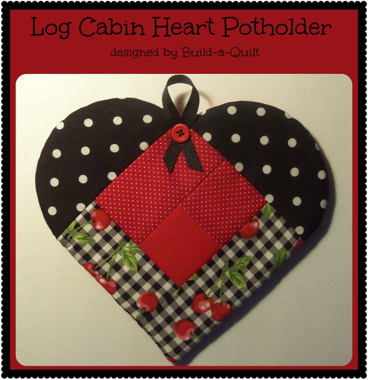 Log Cabin Mug Rug Pattern