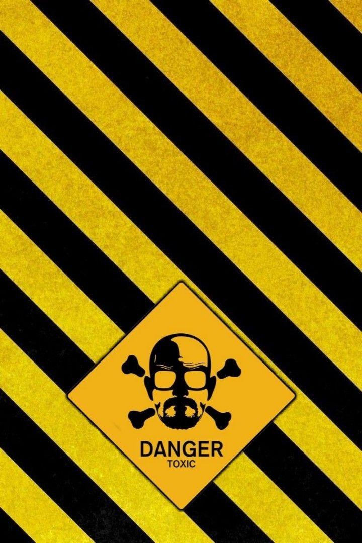 Danger Toxic Yellow Black Wallpaper Tapeta Yellow Aesthetic Aesthetic Pictures Dark Yellow