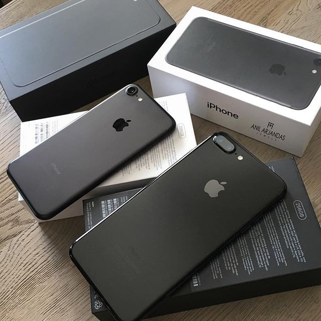 iPhone 7 plus matte black 128 g. Love it except when I switched over it deleted something's and brought back somethings and numbers I deleted 3 years ago. Oh well I forgive you