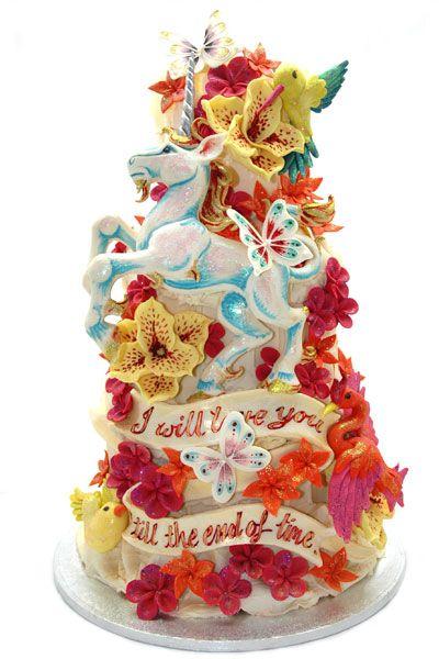 Unicorn cake - Our favourite Choccywoccydoodah cakes