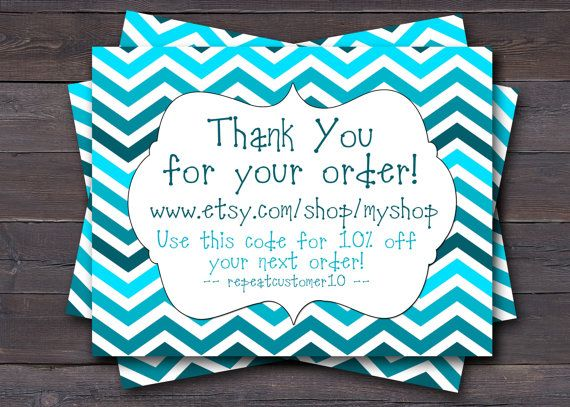 Customer Appreciation Thank You Card, Business Card, Insert Card for