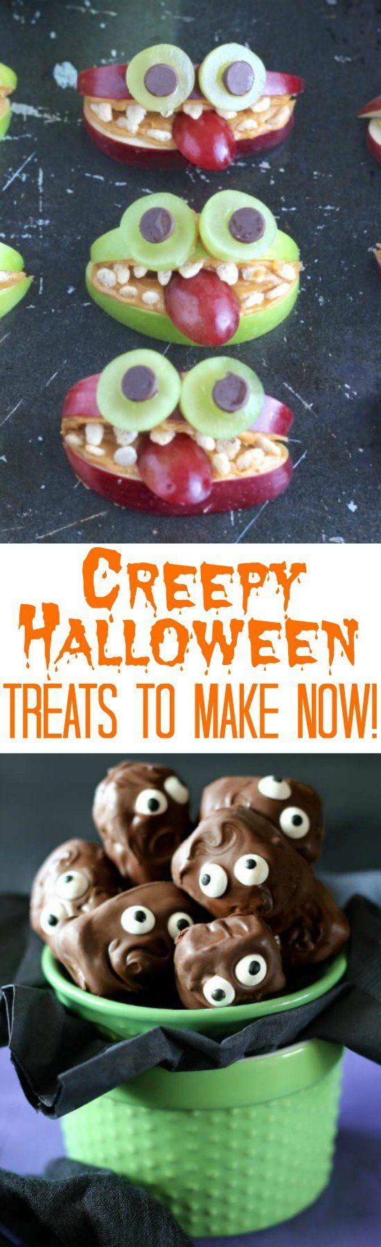 Creep Halloween Treats to Make Now