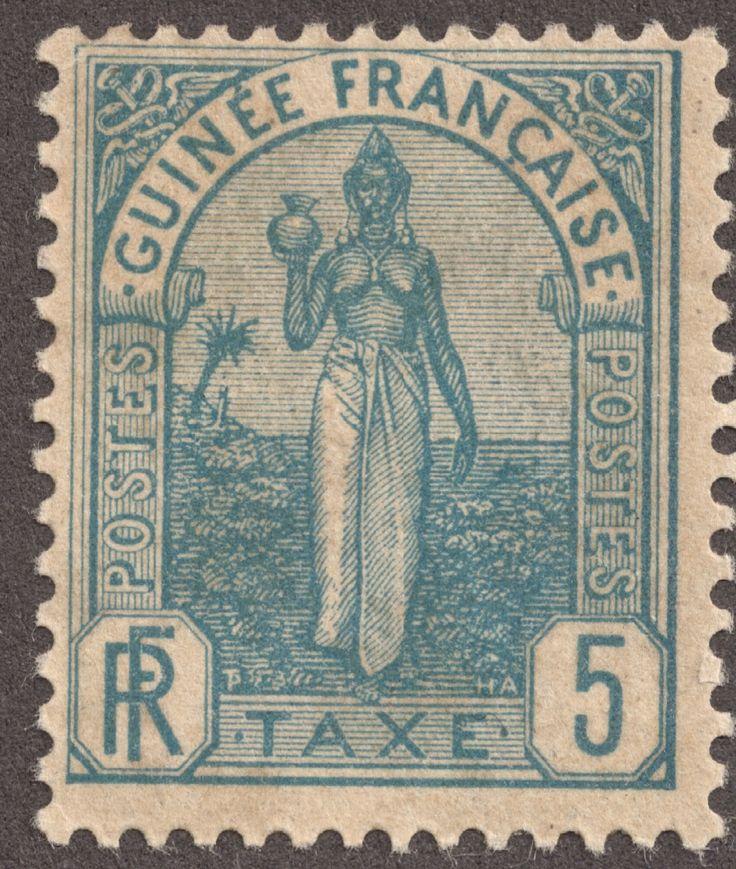 Big Blue 1840-1940: French Guinea