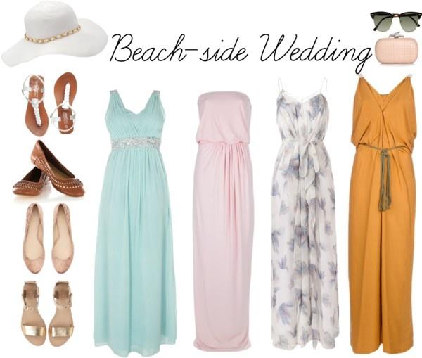 """Beach side Wedding"" by hannahjillian14 on Polyvore"