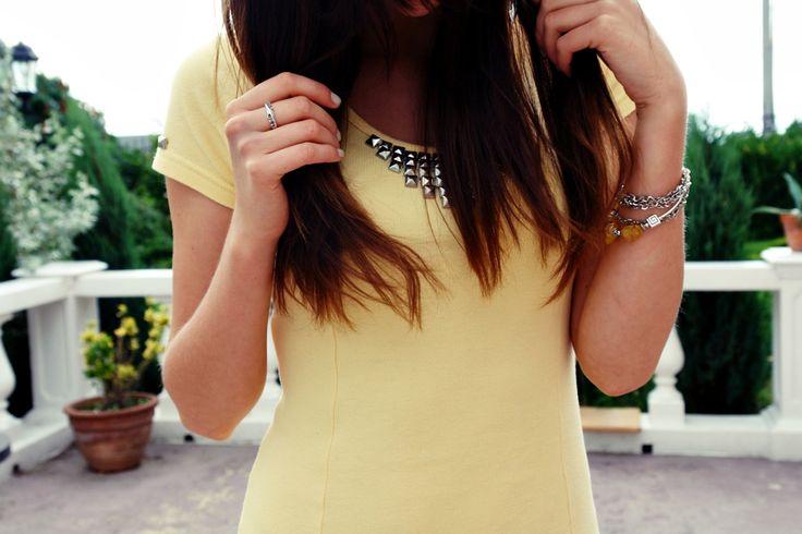 #details #blogger #polishblogger #yellow #dress