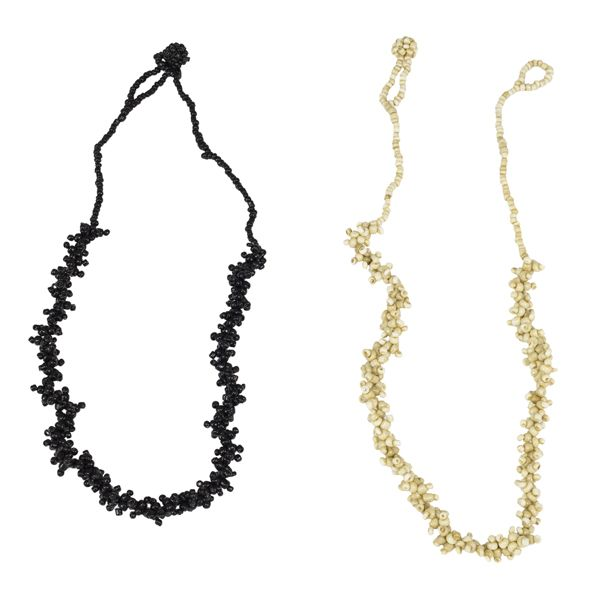 Beads necklace Black 2