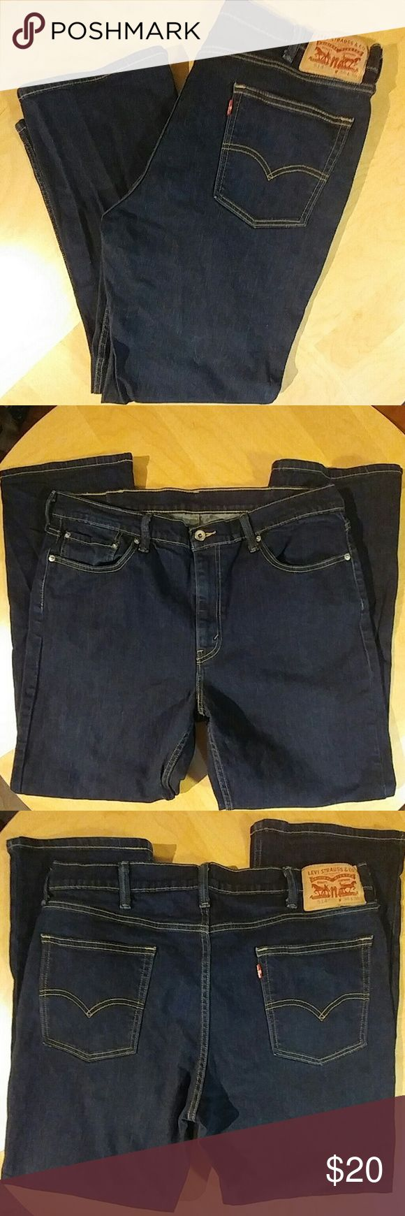 LEVI'S 514 STRETCH FIT STRETCHY MATERIAL. 38X30 Levi's Jeans