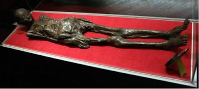 Liber linteus is a mummy found in Egypt, wrapped in bandages with unknown alphabet