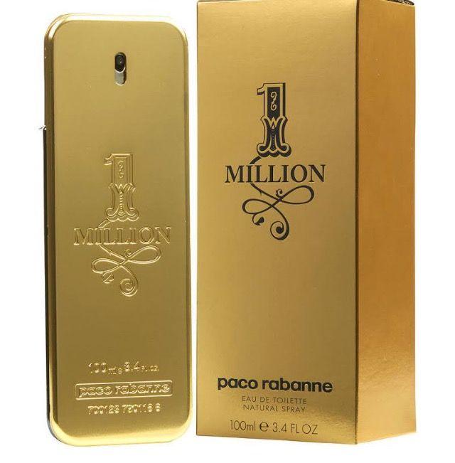 1 One Million Paco Rabanne Cologne For Men 3.4 Oz Edt Brand