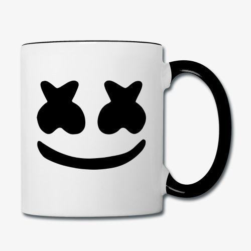 Marshmello Black - Contrast Coffee Mug