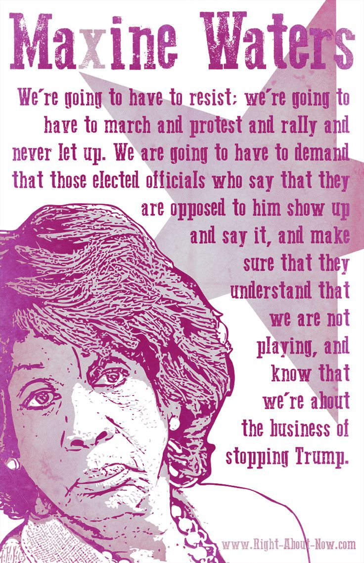 We Shall Win: Maxine Waters