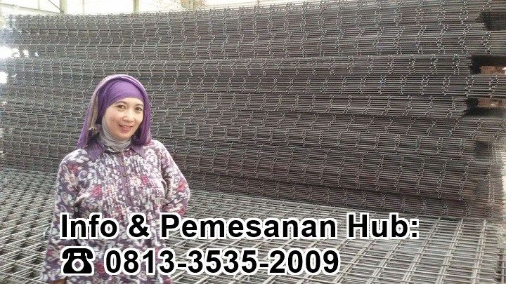 Produk Besi Wiremesh kami di Gudang Surabaya