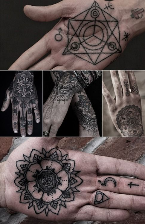 Mandala Tattoos are amazing... wouldn't get one on my hand though!