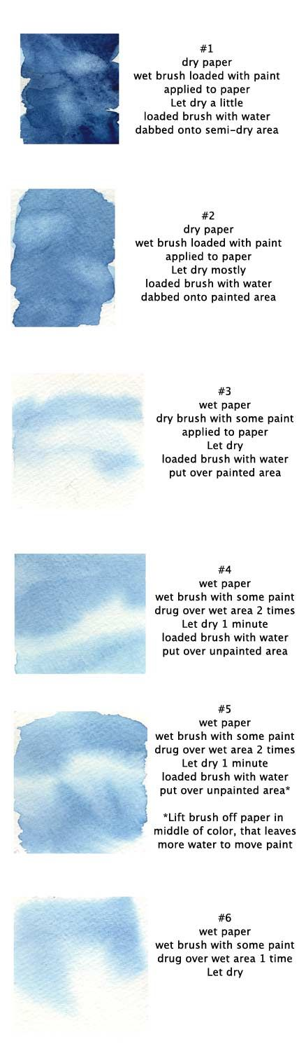 Tutorial covering some of the basic watercolour techniques. As always feel free to ask questions.