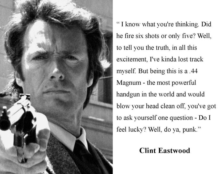 clint eastwood movie quotes - Google Search