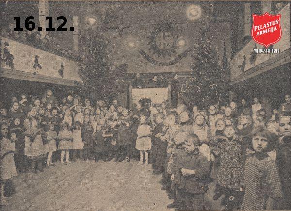 16.12. joulukalenterissa ovat vuorossa muistojen joulut: http://pelastusarmeija.fi/me/tutustu/nuoriso/ajankohtaiset/joulukalenteri-2014/