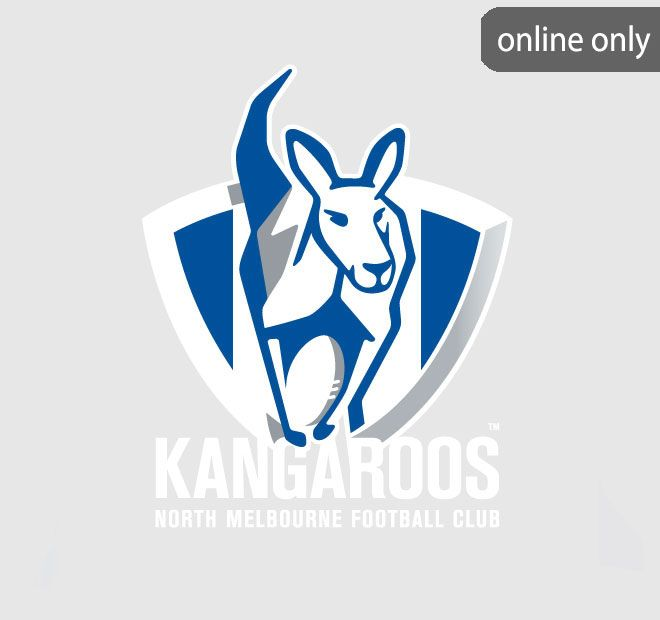 AFL Team Logo Quilt Cover Set and Accessories Range North Melbourne Kangaroos
