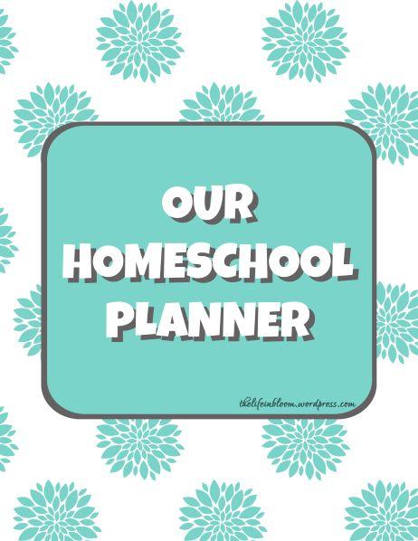Homeschool Planner Download   Homeschool Planning
