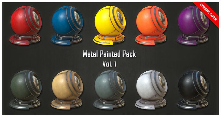 "ArtStation - Metal Painted Pack , Alfredo ""Fredo"" Gutierrez"