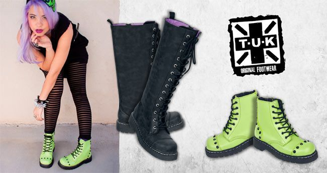 #tuk Original #footwear en EMP ! #botas #punk #zapatos #tacones #rock