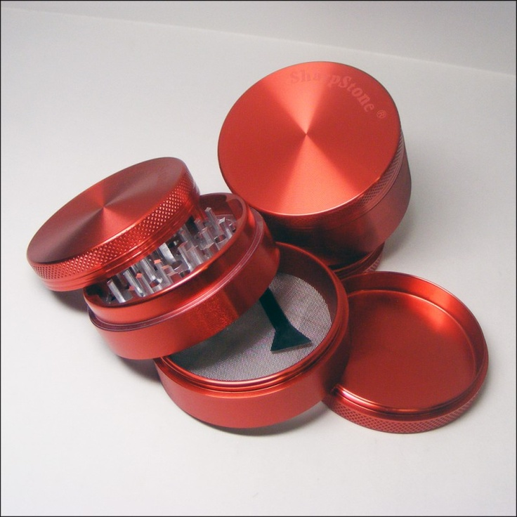Red SharpStone Grinder