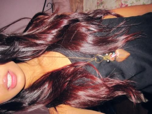 brown to red ombreRedombre, Hairstyles, Hair Colors, Red Hair, Makeup, Beautiful, Hair Style, Red Ombré, Red Ombre Hair