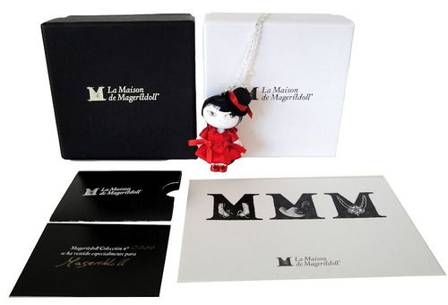 """Mageritdoll Collection...Design & Style # Artistic Doll # Brooch # Necklace # """"Pequeña Alta Costura"""" # Petite Haute Couture"""