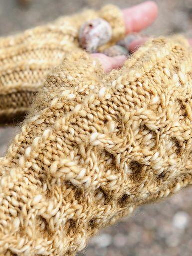 Lawson Fingerless Gloves Knitting Pattern