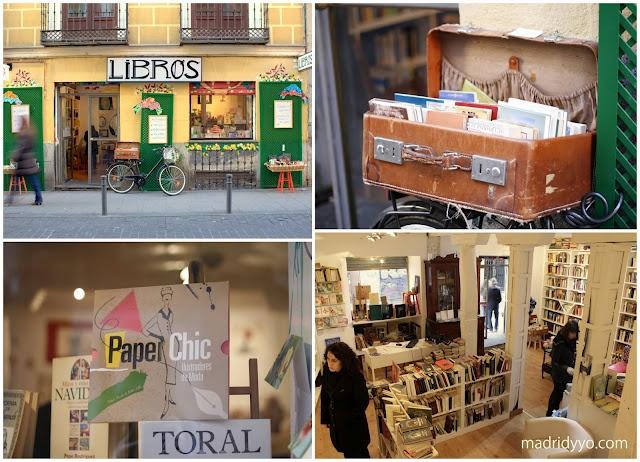 Pictures of Lili + Libros Malasaña, Second Hand Bookstore . Espíritu Santo 13, Madrid.