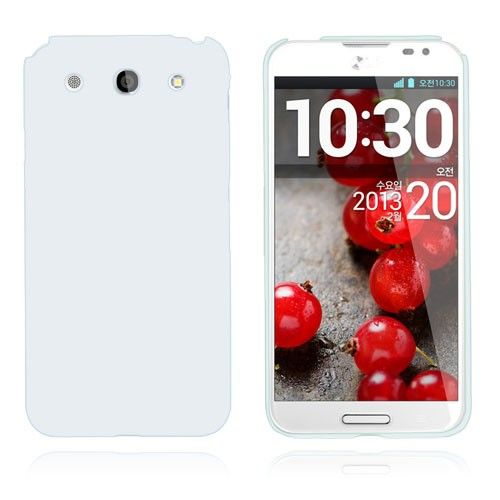 Smooth (Hvid) LG Optimus G Pro Cover