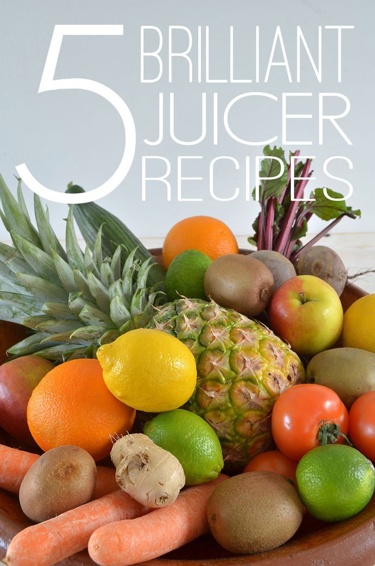 5 Brilliant Juicer Recipes - AO Life