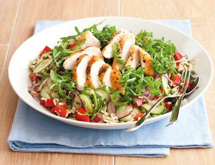 Studený rýžový salát (www.albert.cz/recepty)