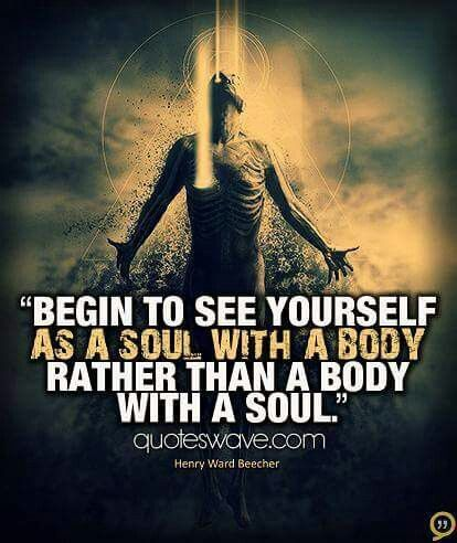 ...see yourself....