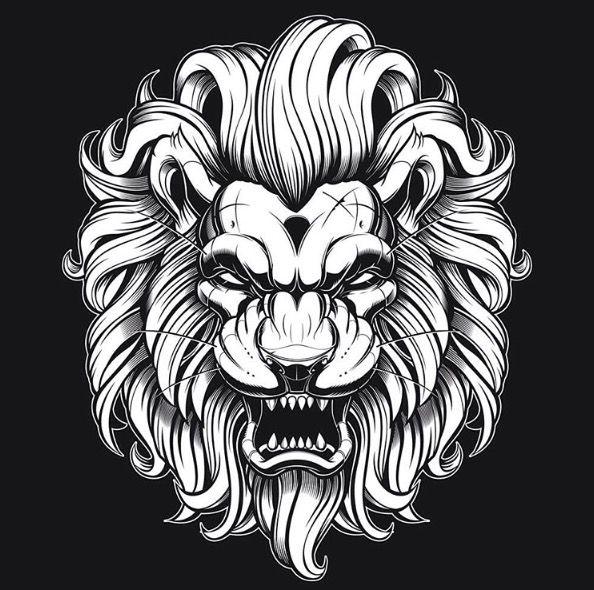 1000+ Ideas About Lion Head Tattoos On Pinterest