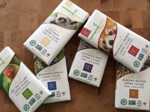 NEW Dairy-Free Cream Filled Chocolate Bars From Endangered Species Chocolate   Basilmomma