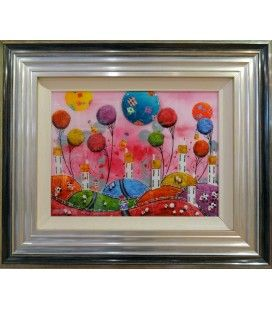Patchwork Love - Limited edition Print by Dale Bowen