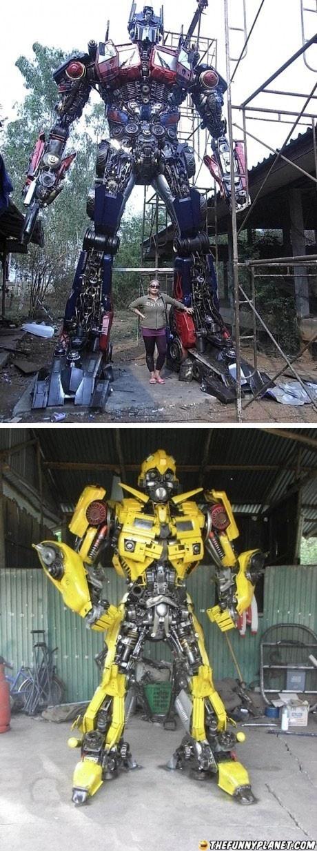 Transformers, Scrap Metal In Disguise