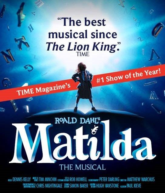 Matilda The Musical Review. The award-winning show, including four Tony awards, is a mesmerizing performance, and must-see for the whole family!
