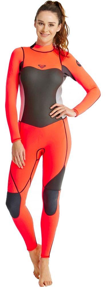 4/3mm Women's Roxy SYNCRO Full Wetsuit   Wetsuit Wearhouse