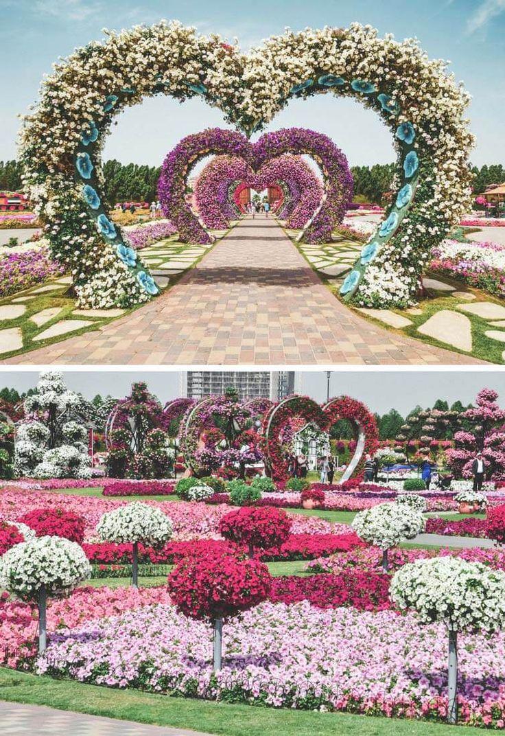 Dubai Wallpaper Beautiful Places in 2020 Dubai garden