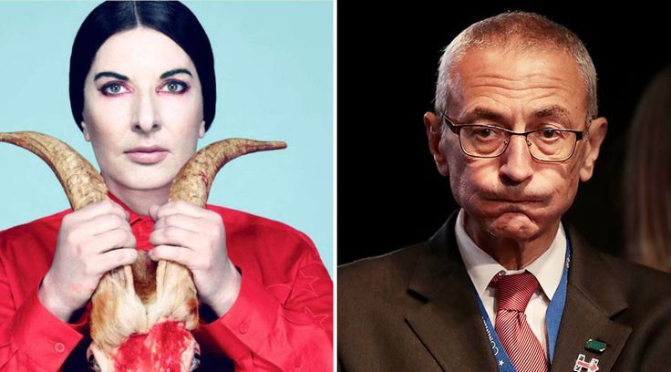 """The latest Wikileaks dump on John Podesta, the head of Clinton's presidential campaign, former Bill Clinton White House Chief of Staff, and Obama Councillor, reveals that John Podesta was invited to a """"spirit cooking dinner"""" by Marina Abramovic. Abramovic is a Serbian performance artist based in New York, whose parents held high positions within the […]"""