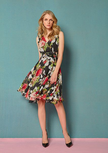 the wrap floral dress in chiffon georgette!! visit our web site: http://www.aliki-victoria.gr/gr/