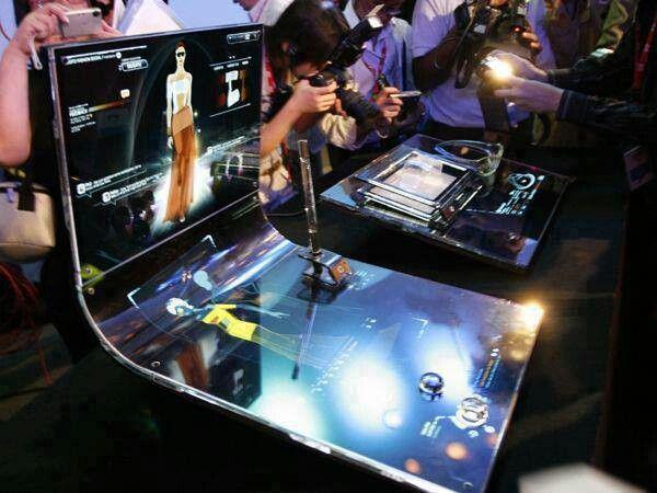 4d touch screen technology #Doohdas