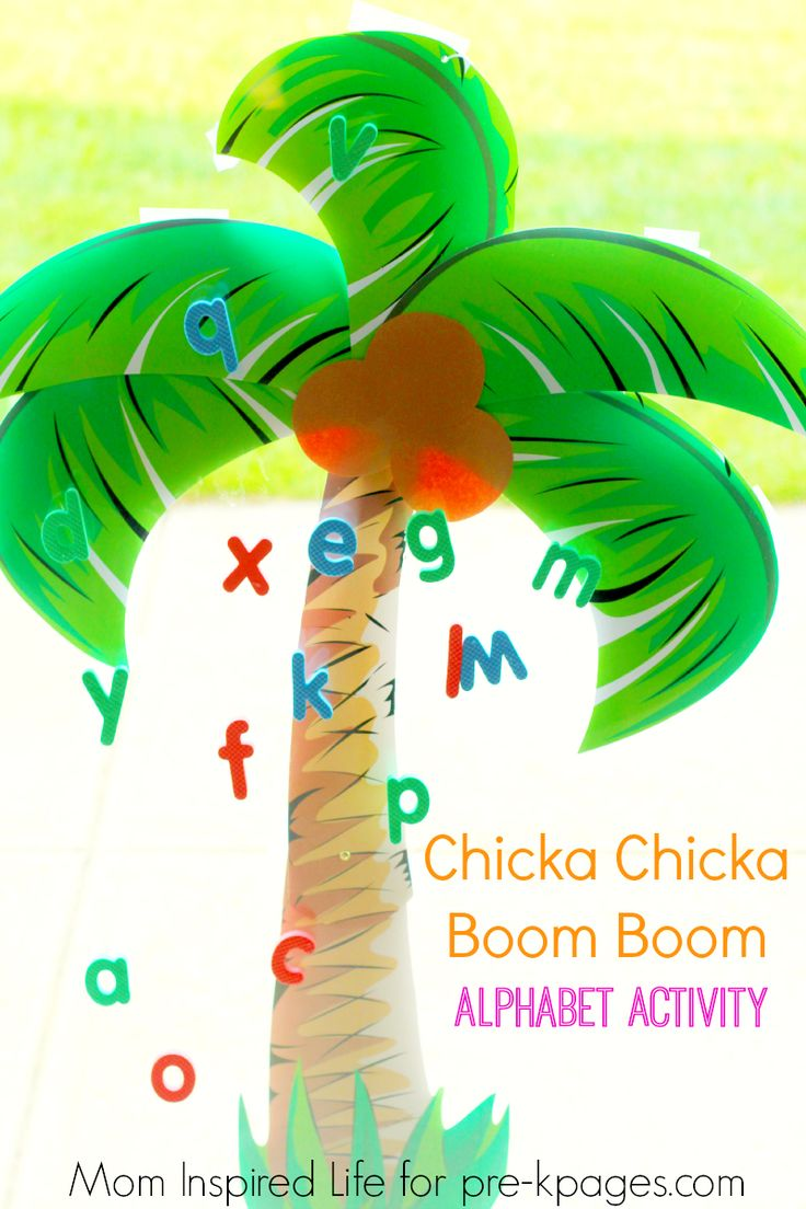 63 best Chicka Chicka Boom Boom images on Pinterest | Chicka chicka ...