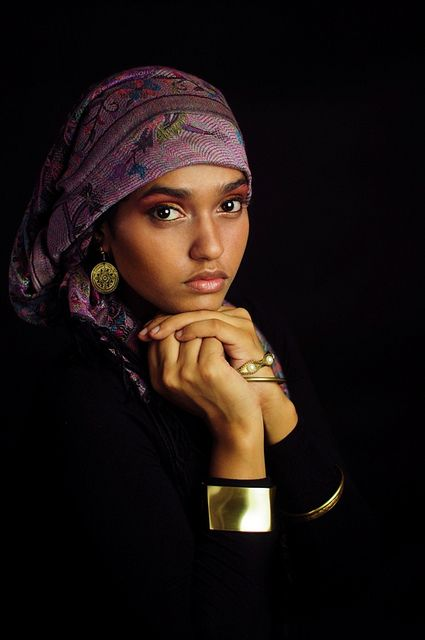 Gypsy Of Ceylon Sri Lanka - I see 'Girl with the pearl earring' by Vermeer.