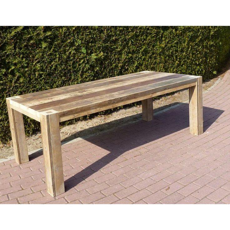 Eettafel steigerhout Beckum